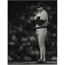 1989 Press Photo Milwaukee Brewers baseball pitcher, Teddy Higuera - mjt04303