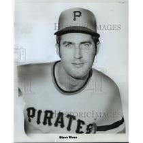 1972 Press Photo Pittsburgh Pirates baseball pitcher, Steve Blass - mjt03613