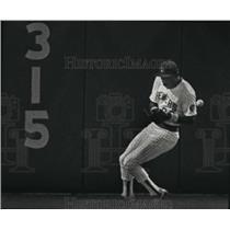 Press Photo Milwaukee Brewers baseball left fielder, Jeffrey Leonard - mjt03453
