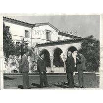 1930 Press Photo Albert Einstein California Institute - RRX83321