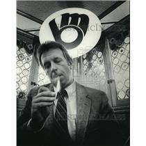 1983 Press Photo Milwaukee Brewers baseball manager, Rene Lachemann - mjt04243