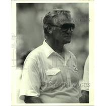 1996 Press Photo Miami Dolphins footbll coach Don Shula - sas16332