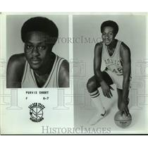 Press Photo Golden State Warriors basketball player Purvis Short - sas15592