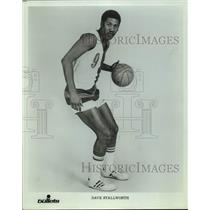Press Photo Washington Bullets basketball player Dave Stallworth - sas15708