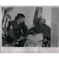 1963 Press Photo Simpson Mann Indian War Char Soldier - RRX53617