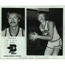 Press Photo Buffalo Braves basketball player Claude Terry - sas16185