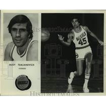 Press Photo Houston Rockets basketball player Rudy Tomjanovich - sas16284