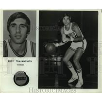 Press Photo Houston Rockets basketball player Rudy Tomjanovich - sas16285