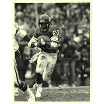 1988 Press Photo Minnesota Vikings football running back Darrin Nelson
