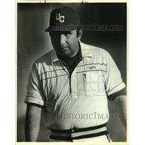 1988 Press Photo Uvalde High baseball coach Jesse Suarez vs. New Braunfels