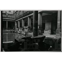 Undated Press Photo Roman Baths Somerset England - RRX62791
