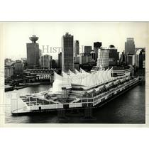1986 Press Photo Canada Place Pavilion Expo Vancouver - RRW77621