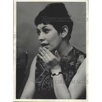 1967 Press Photo Francine Galata Narcotics addict tells - RRW42291