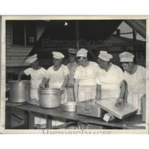 1950 Press Photo Mess Sergeants of the Massachusetts National Guard - lrx06890