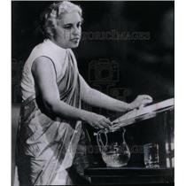 1947 Press Photo Vijaya Lakshmi Nehru Pandit Politician - RRX44755