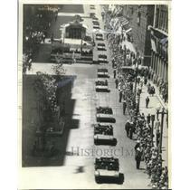 1941 Press Photo Australian Bren Gun Carriers In Parade At Sydney - mjx58291