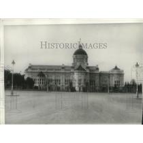 1942 Press Photo Bangkok City Hall in Thailand - mjx58765