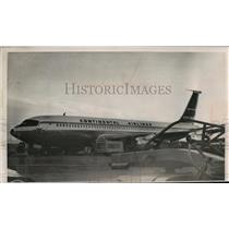 1961 Press Photo hijacked Continental Air Line plane after landing in El Paso