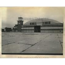 1972 Press Photo Aircraft hanger at Schenectady County Airport in New York