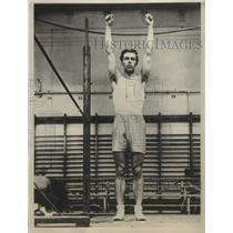 1934 Press Photo Prince Bertil of Sweden wins broad jumping championship