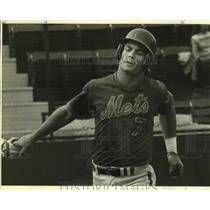 1983 Press Photo New York Mets baseball player John Gibbons - sas09687