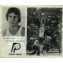 Press Photo Indiana Pacers basketball guard Mike Flynn - sas09715