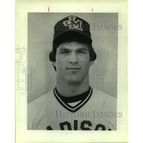 1983 Press Photo Madison High baseball player Scott Eichman - sas10195