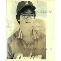 1983 Press Photo Judson High baseball player Marc Pietz - sas10200