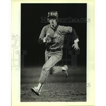 1983 Press Photo Jefferson and Burbank play high school baseball - sas10205