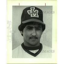 1983 Press Photo Madison High baseball player David Rodriguez - sas10212