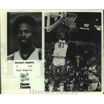 Press Photo Denver Nuggets basketball player Anthony Roberts - sas12929