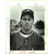 1990 Press Photo Highland High baseball player Ray Arquello - sas13015