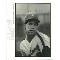 1987 Press Photo Houston's Northshore High School pitcher, Brian Bohanon