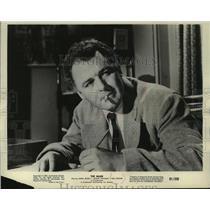 "1961 Press Photo Actor Rod Steiger co-stars in ""The Mark"" - mjp37368"