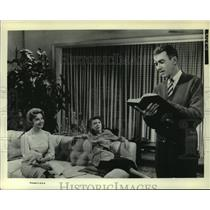 1964 Press Photo Audrey Meadows With Others In Scene From 'Take Her, She's Mine'