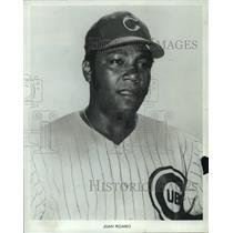 1971 Press Photo Juan Pizarro, pitcher for the Chicago Cubs baseball team