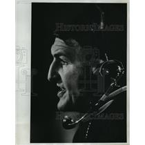 "1977 Press Photo Clifford ""Kip"" Cramer, Grafton Football Coach - mjt04677"
