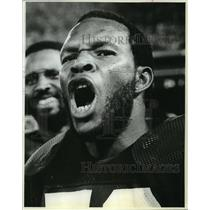 1982 Press Photo Mike Douglass, Football linebacker for the Green Bay Packers