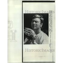 1972 Press Photo New York Yankee baseball player John Callison in recent photo