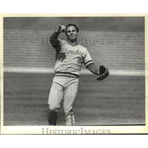 1981 Press Photo Milwaukee Brewers - Baseball Player Sal Bando - mjt05606