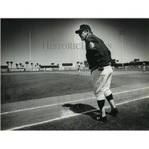 1984 Press Photo New York Yankees - Yogi Berra, Manager - mjt05626