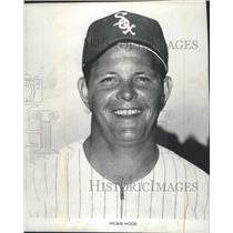 1972 Press Photo Chicago White Sox - Wilbur Wood, Baseball Player - mjt06371
