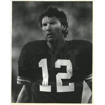 1983 Press Photo Green Bay Packers - Lynn Dickey, Football Player - mjt06413