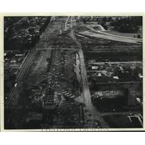 1961 Press Photo Kenner, New Orleans Interstate - nob50156
