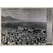 1943 Press Photo German bombs Mount Allies Beautiful - RRX78867