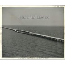 1956 Press Photo Lake Pontchartrain Causeway turnaround opened - nob54315