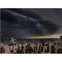 Press Photo Triathlon Ohio St. Beach Olive Park Storm - RRW92797