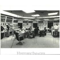 Press Photo Crew at the control room of Louisiana Power and Light Waterford III
