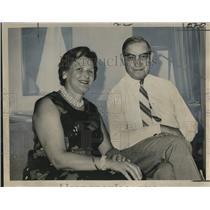 1965 Press Photo Mr. & Mrs. Samuel Gonard of International Committee Red Cross