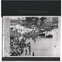 1964 Press Photo Panamanians University Panama City - RRX82221
